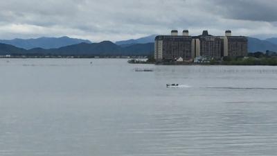 GWの10連休4日目 雨の合間の琵琶湖(YouTubeムービー)