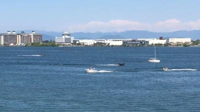 ボート走りまくり!! GWの10連休8日目の琵琶湖(YouTubeムービー)