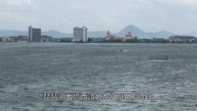 爆風の日曜日!! 大荒れの琵琶湖(YouTubeムービー)