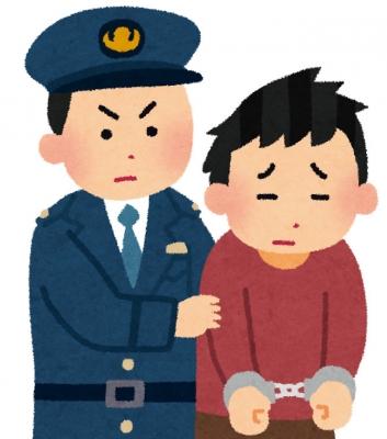 犯人逮捕(いらすとや)