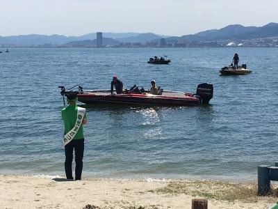 大津市議選候補者 幸光まさつぐ街頭演説会(19/04/16)