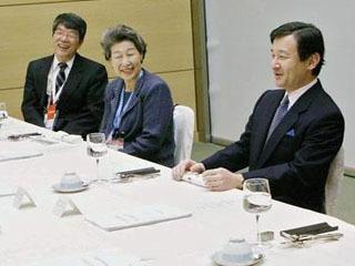 国連「水と衛生に関する諮問委員会」第10回東京会合での徳仁天皇(当時皇太子)