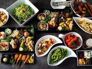 琵琶湖ビア・ボートで提供される料理