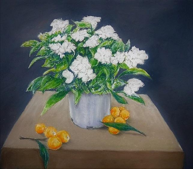 19.6.21 細雪 ビワと白い花 (10)