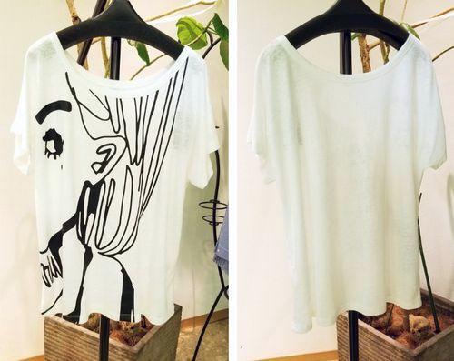 cop横顔Tシャツ3