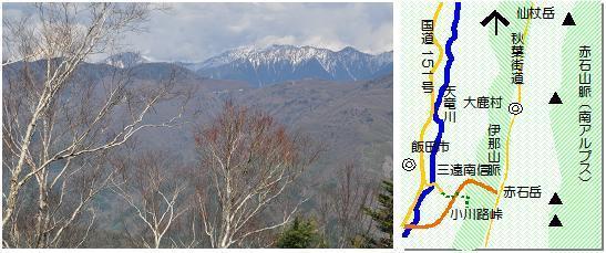小川路峠マップ