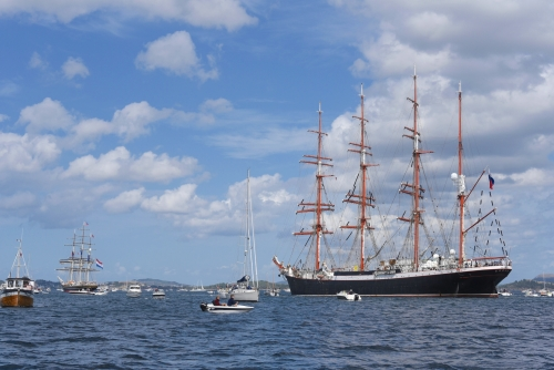 Sedov and Stad Amsterdam at POS