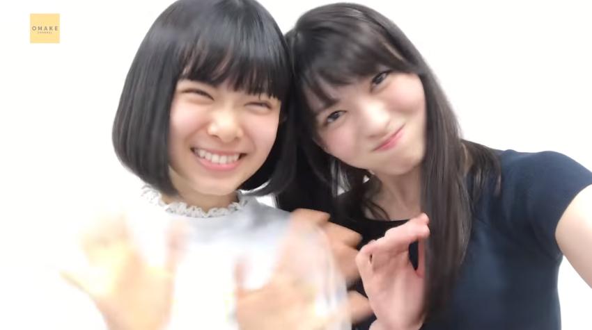 矢島舞美&山﨑夢羽《自撮りアカペラ》嵐を起こすんだ Exciting Fight!03