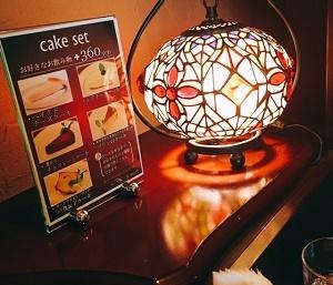 ル プルミエ カフェ in ビギ・ファースト (Le Premier Cafe)ケーキセット
