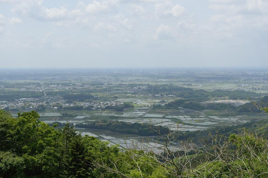 新緑を感じる茨城縦走