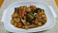 玉こんにゃくと根菜の煮物 20190606