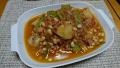 鶏肉とじゃがいもの豆煮 トマト風味 20190610
