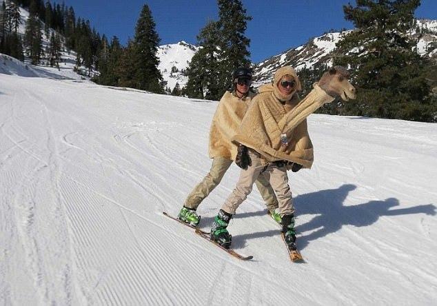 0410おちゃめなスキーヤー