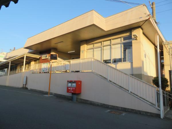 六十谷駅1