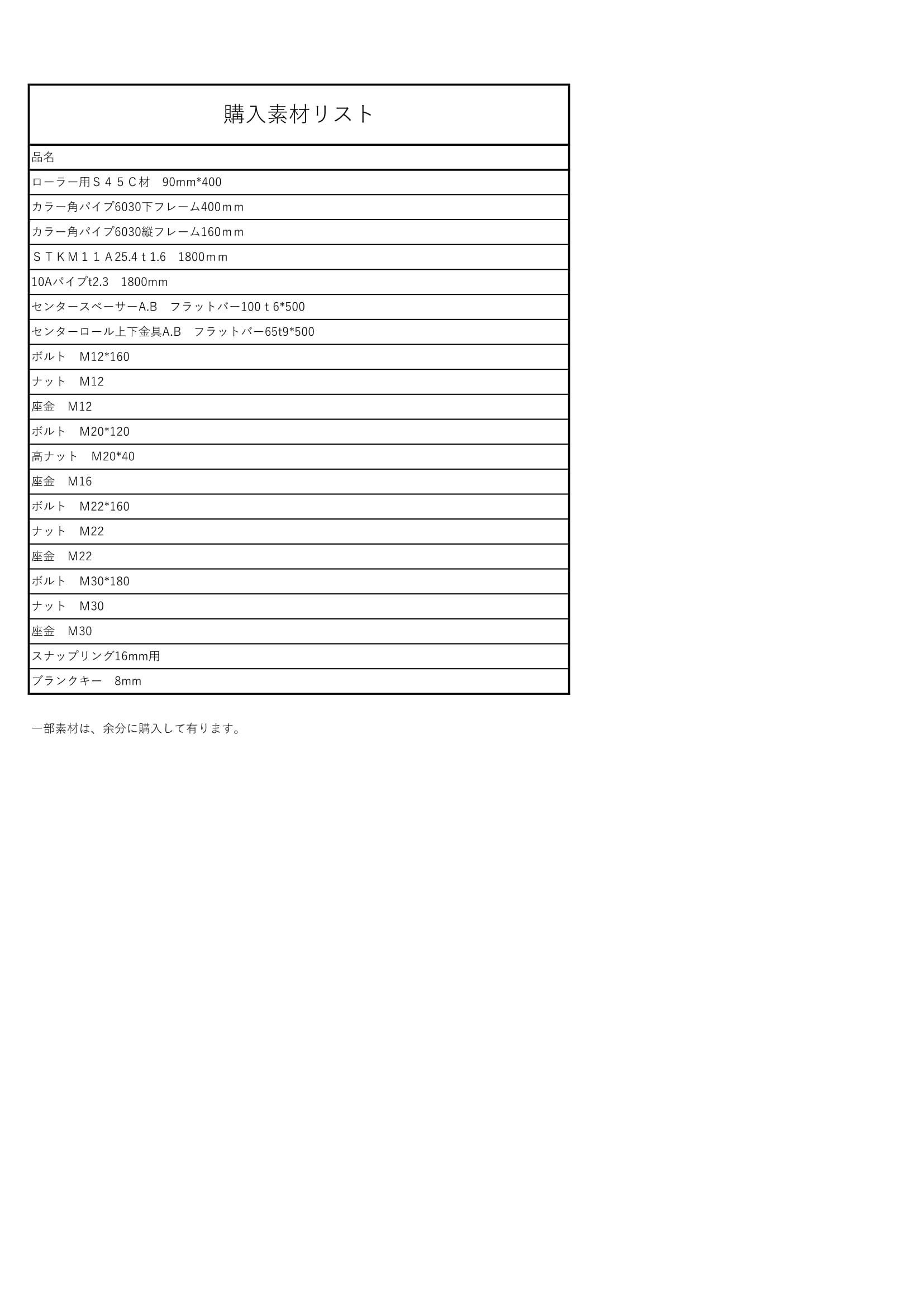 2チューブローラー2_購入リスト-1
