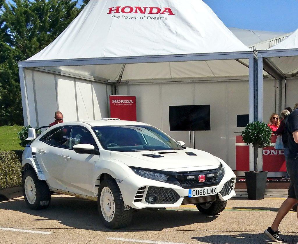 Honda civic typer rally2