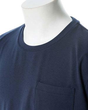 汗染み防止加工 半袖ポケットTシャツ メンズ2