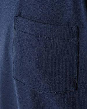 汗染み防止加工 半袖ポケットTシャツ メンズ3