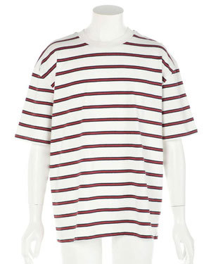 2019年 夏 メンズファッション 半袖ボーダーTシャツ2