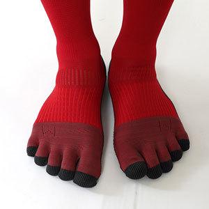 メンズソックス 靴下 五本指 フットボール