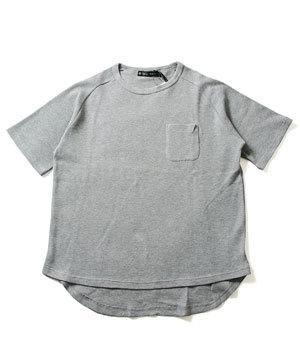 メンズ半袖Tシャツ 2019夏 ワッフル