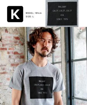 2019春夏メンズファッション 半袖プリントTシャツ8