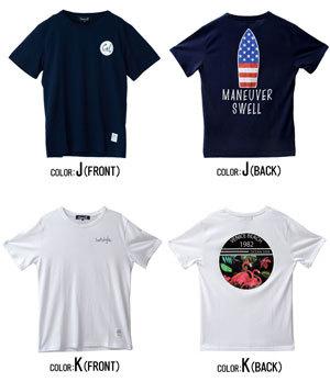 2019夏半袖プリントTシャツ メンズ 14種類例3