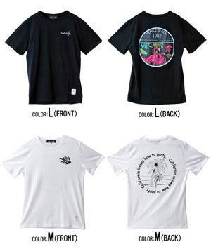 2019夏半袖プリントTシャツ メンズ 14種類例4