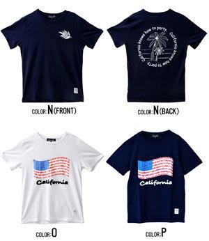 2019夏半袖プリントTシャツ メンズ 14種類例5