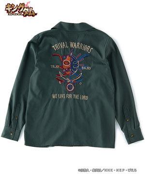 キングダムコラボシャツ タジフ×バジオウ1