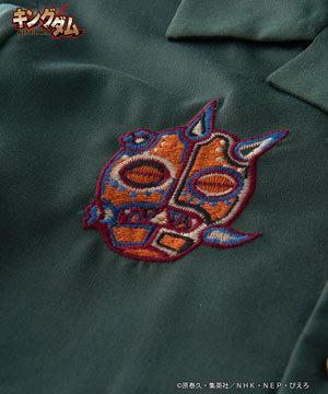キングダムコラボシャツ タジフ×バジオウ2