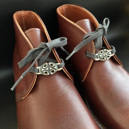 シルバー,ガボール,ガボラトリー,シューレースプレート,Gaborataory,Gabor,Silver,shoelace plate