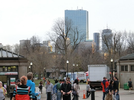 ボストンコモン入口