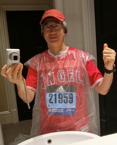 ボストンマラソン当日
