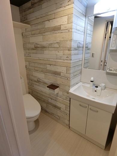 尻手新築アパート2階トイレ2