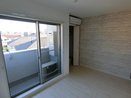 尻手新築アパート301室内2
