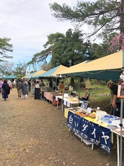 庄内オーガニックマルシェ 松ヶ丘 桜まつり2