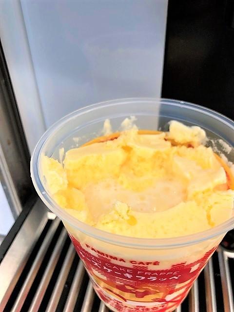 ファミリーマート チーズケーキフラッペ アップルソース仕立て2