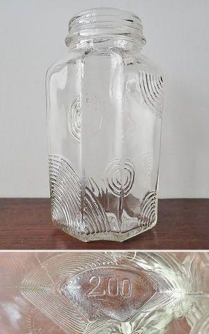 波紋の水飴瓶
