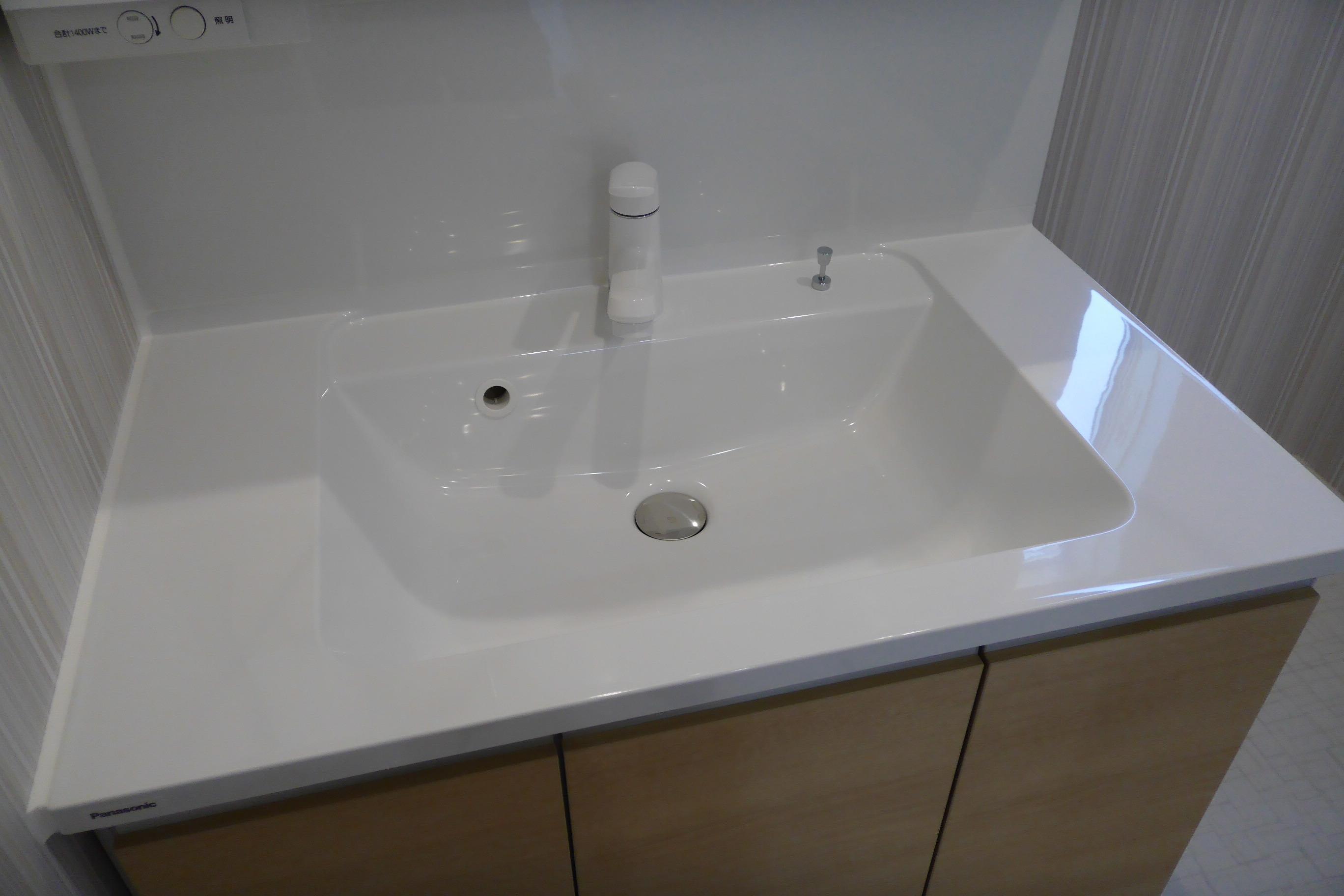洗面台の水まわりコーティング1〜柏市〜
