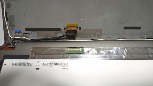 Dynabook R63 LCDハーネス外し