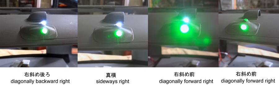 LED取り付け位置