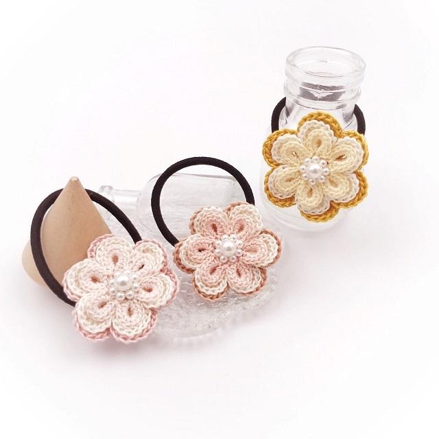 手編み雑貨やヘアアクセサリーの通販をお探しなら花をモチーフにした素敵なデザインを制作するHanahanDへ