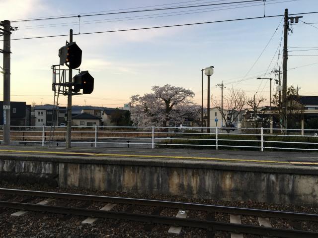 20190413早朝本津幡駅1