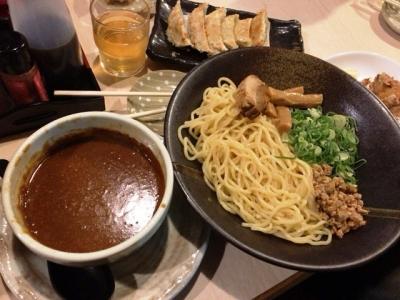 190305西松家カレーつけ麺(チャーシュー1枚)720円が誕生日で無料