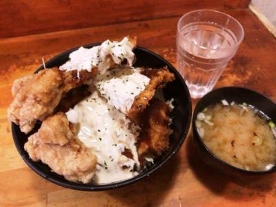 190305キッチン男の晩ごはん阿佐ヶ谷店スタミナ丼(タルタル)750円