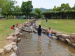 四季の郷公園水遊び