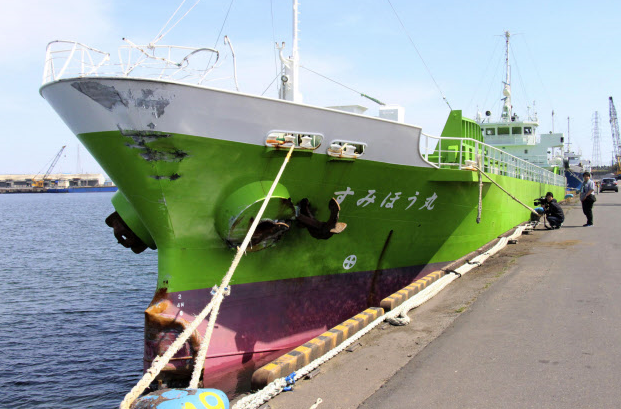 すみほう丸 呉市の海運会社