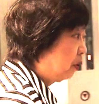太田房江参院議員 顔面