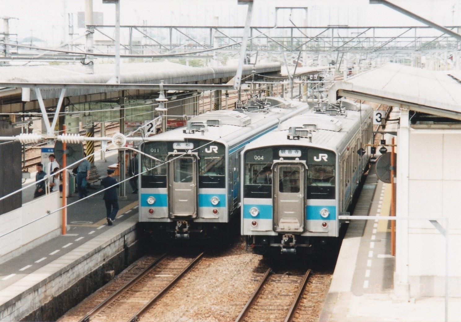 7200系への改造前の121系
